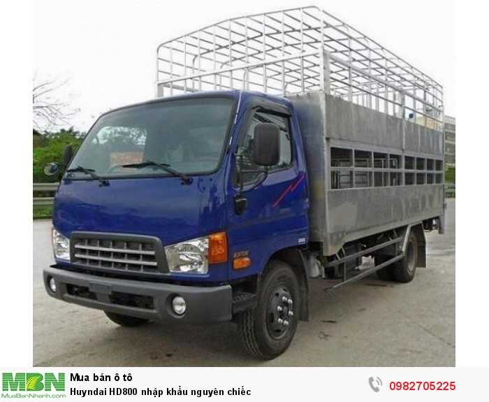 Xe tải Huyndai HD800 nhập khẩu nguyên chiếc
