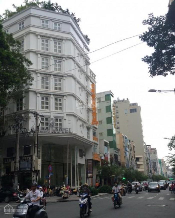 Khách sạn, văn phòng mặt tiền Yên Thế, 8 tầng, 20 phòng, 37 tỷ.