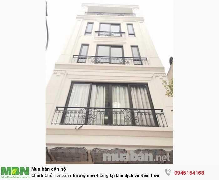 Chính Chủ Tôi bán nhà xây mới 4 tầng tại khu dịch vụ Kiến Hưng - Mậu Lương Hà Đông - Hà Nội