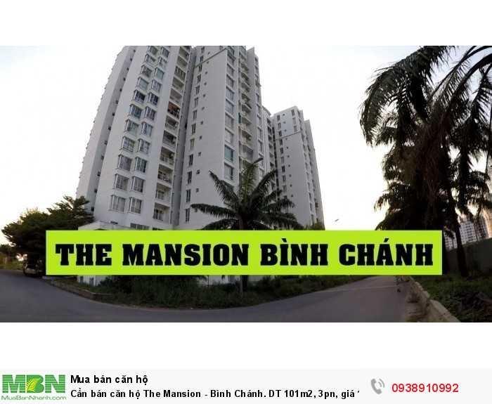 Cần bán căn hộ The Mansion - Bình Chánh. DT 101m2, 3pn, giá 1.5 tỷ