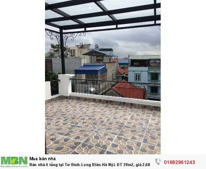 Bán nhà 4 tầng tại Tư Đình-Long Biên-Hà Nội. DT 39m2, giá 2.68 tỷ.