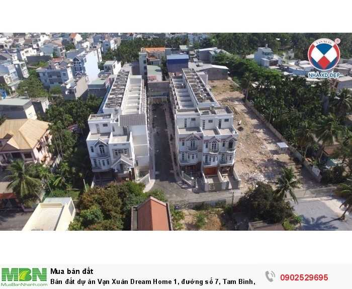 Bán đất dự án Vạn Xuân Dream Home 1, đường số 7, Tam Bình, Thủ Đức