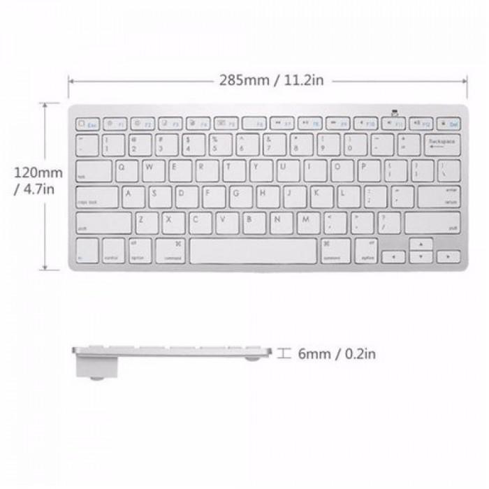Bàn phím Bluetooth giá rẻ nhập khẩu sang trọng smart keyboard5