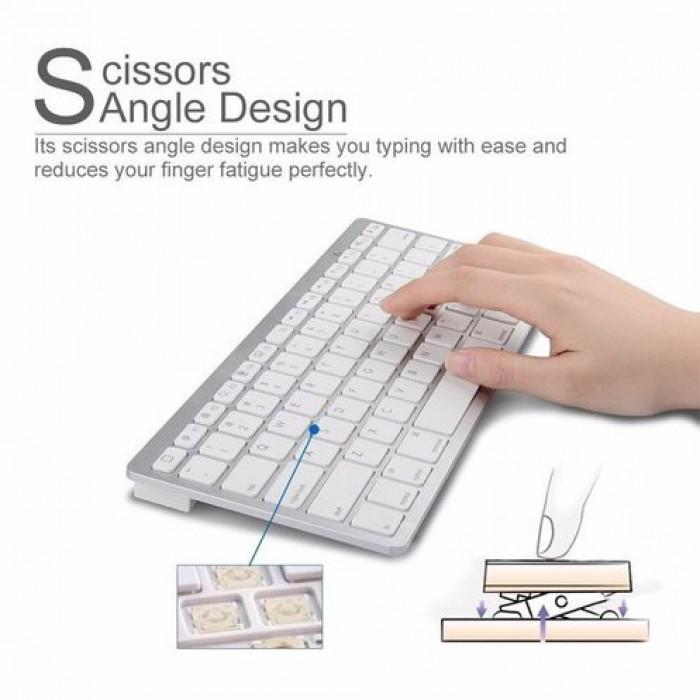 Bàn phím Bluetooth giá rẻ nhập khẩu sang trọng smart keyboard4