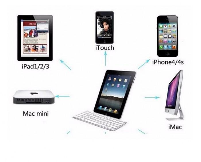 Bàn phím Bluetooth giá rẻ nhập khẩu sang trọng smart keyboard8