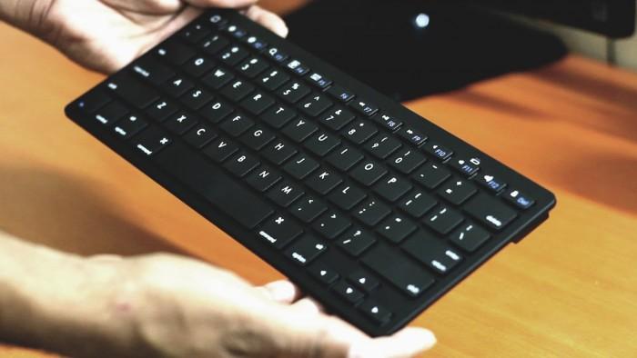 Bàn phím Bluetooth giá rẻ nhập khẩu sang trọng smart keyboard10