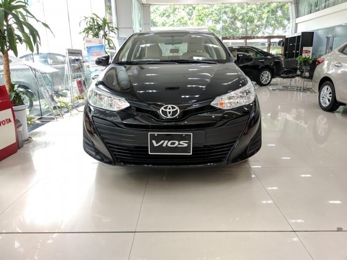Toyota Vios 1.5E 2019 giá cạnh tranh, hỗ trợ mọi thủ tục