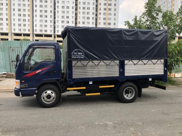 Xe tải nhẹ jac 2.4 tấn mới đời 2017 euro3, xe có sẵn giao ngay 0