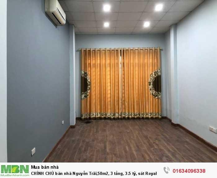 CHÍNH CHỦ bán nhà Nguyễn Trãi,50m2, 3 tầng, sát Royal