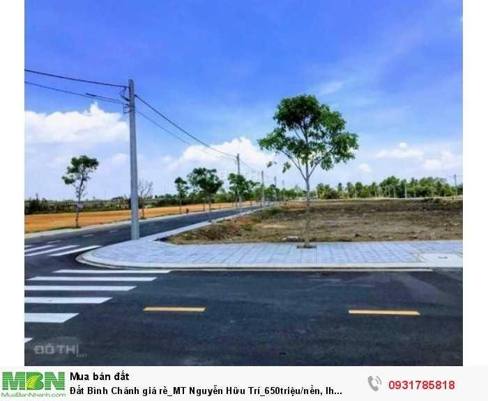 Đất Bình Chánh giá rẻ_MT Nguyễn Hữu Trí_650triệu/nền,