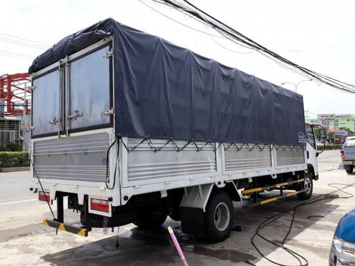 Xe Tải Faw GM 7 tấn 3 máy huyndai thùng bạt cam kết về chế độ bảo hành và sửa chữa xe tải faw,động cơ hyundai 7t357350kg về sau cho quý khách hàng hài lòng nhất