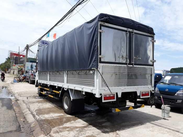 Xe Tải Faw GM 7 tấn 3 máy huyndai thùng bạt Tay lái trợ lực, điều chỉnh độ nghiêng, bảo hành 24 tháng hoặc 50.000 kM