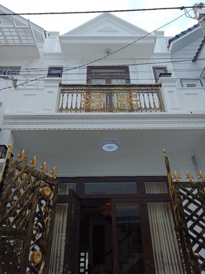Bán Nhà 1 Trệt 1 Lầu Mặt Tiền Nguyễn Tri Phương Diện Tích 4,5x14