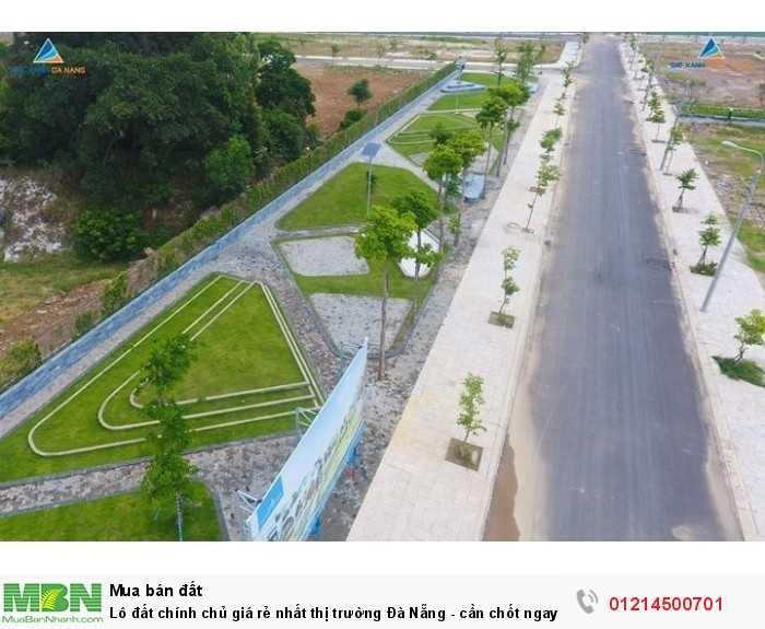 Lô đất chính chủ giá rẻ nhất thị trường Đà Nẵng - cần chốt ngay trong ngày