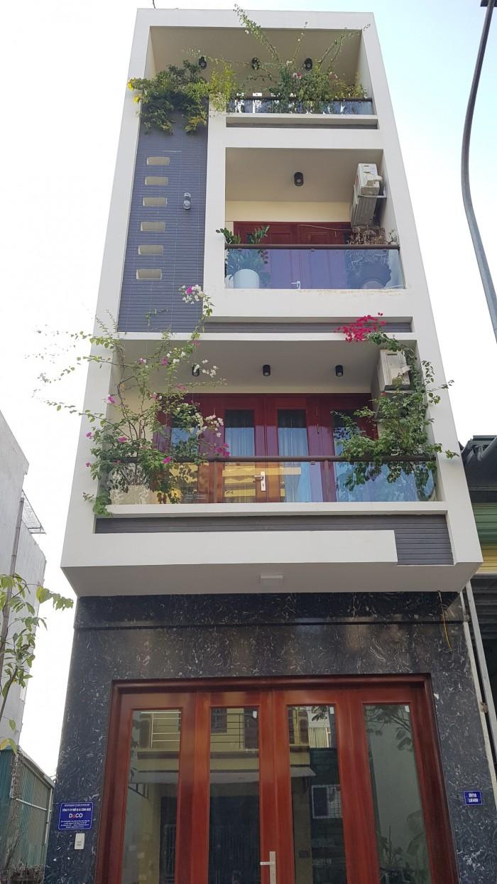 Bán nhà liền kề, khu đô thị Văn Khê, đường 12m, DT 50m2, 5 tầng