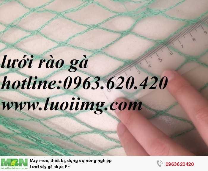 Lưới vây gà nhựa PE
