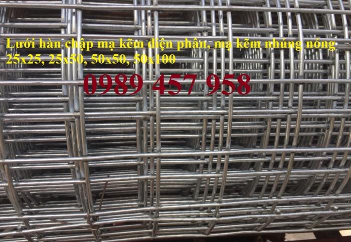 Chuyên lưới hàn mạ kẽm phi 2, phi 3, phi 4 ô 12x12, 25x25, 25x50, 50x50, 50x100 giá sỉ1