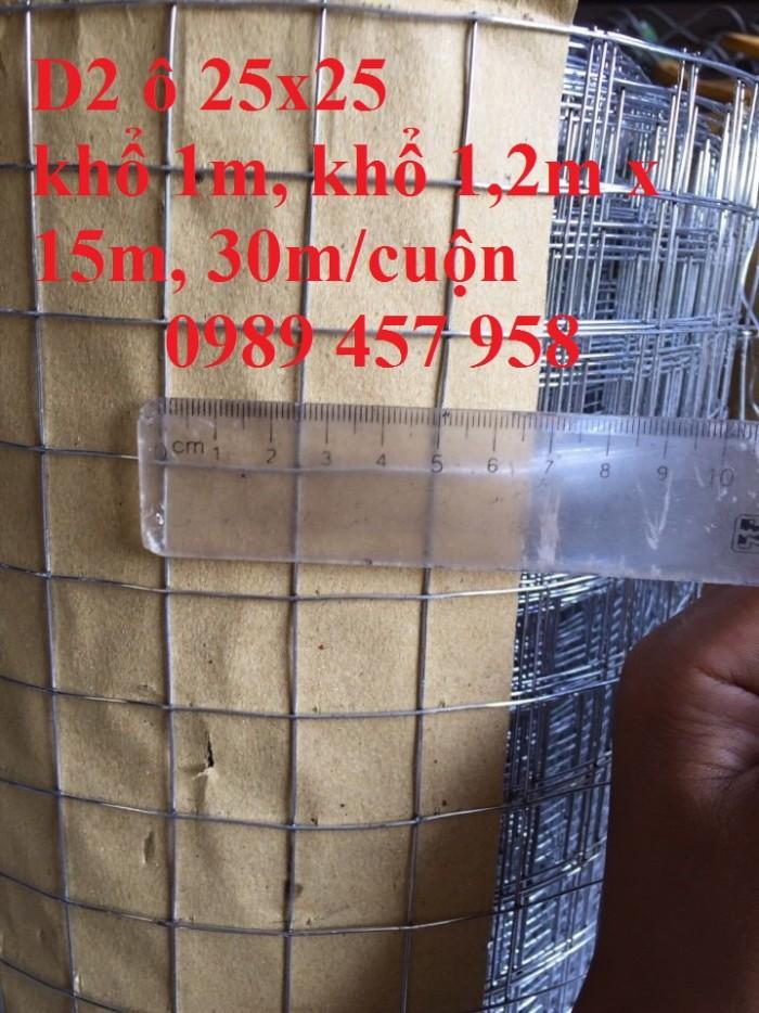 Chuyên lưới hàn mạ kẽm phi 2, phi 3, phi 4 ô 12x12, 25x25, 25x50, 50x50, 50x100 giá sỉ2