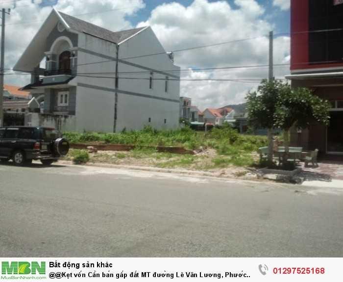 Cần bán gấp đất MT đường Lê Văn Lương, Phước Kiểng, Nhà Bè