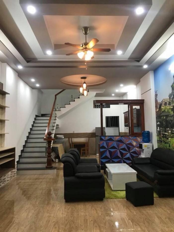 Bán căn nhà mới số 379/13 (A7) Trần Quang Diệu mới , cách chợ Cầu Ván 400m