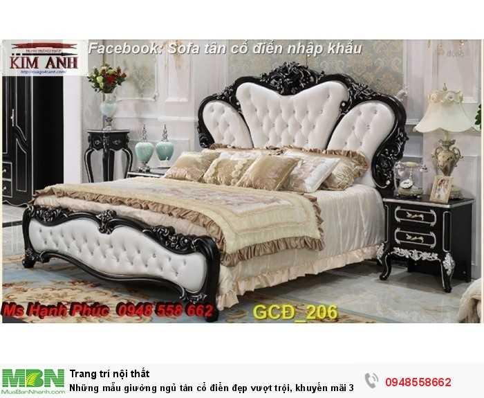 giường ngủ tân cổ điển giá rẻ hà nội