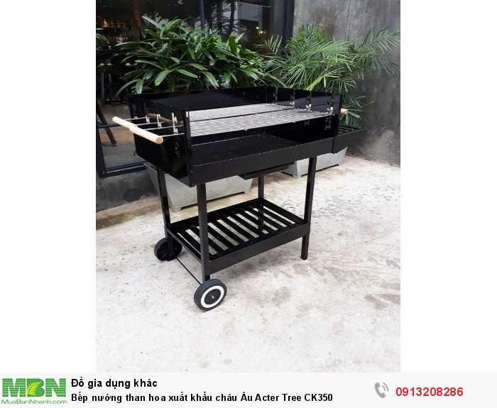 Bếp nướng than hoa xuất khẩu châu Âu Acter Tree CK3500