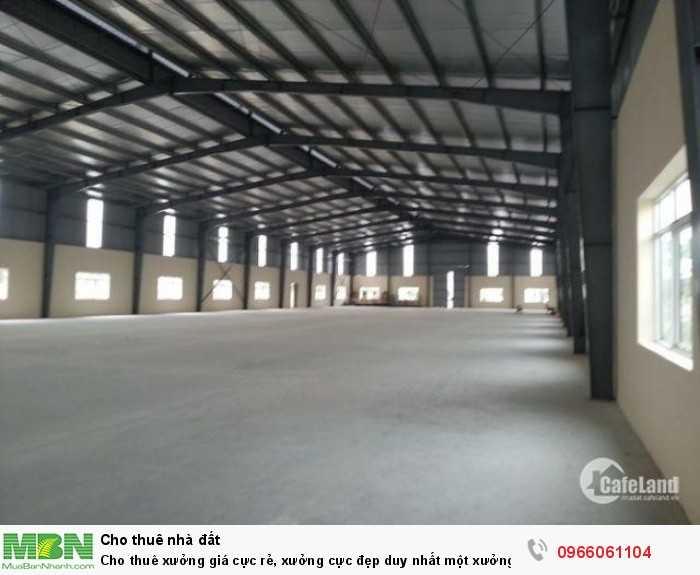 Cho thuê xưởng giá cực rẻ, xưởng cực đẹp duy nhất một xưởng giá chỉ 3tr/tháng ở Cổ Bi, Gia Lâm, Hà Nội