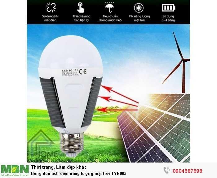 Bóng đèn tích điện năng lượng mặt trời TYN0030