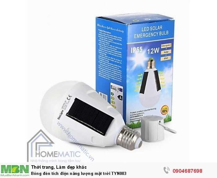 Bóng đèn tích điện năng lượng mặt trời TYN0031