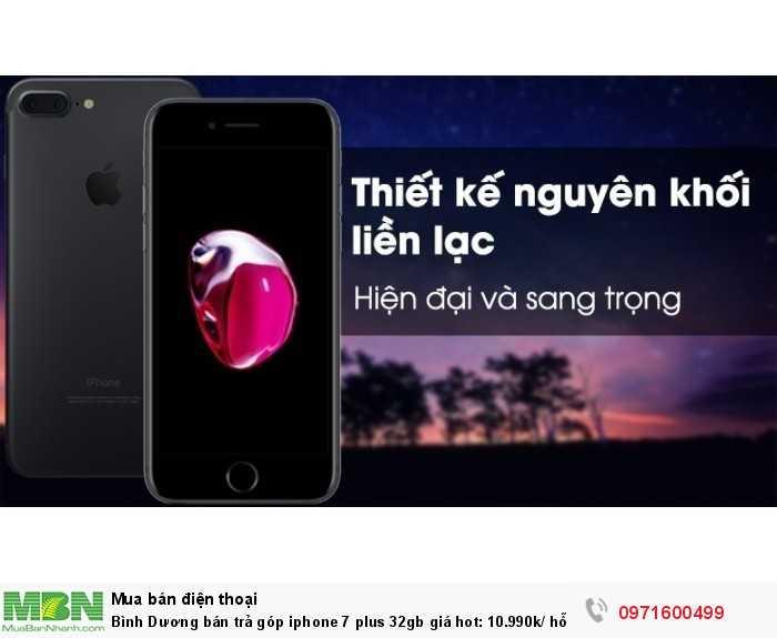 Bình Dương bán trả góp iphone 7 plus 32gb giá hot - hỗ trợ trả góp 0%7
