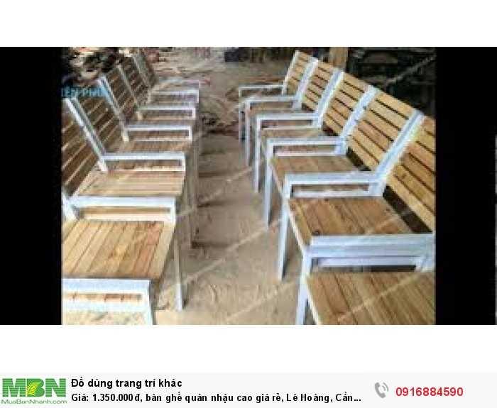 Bàn ghế quán nhậu cao giá rẻ, Lê Hoàng, Cần bán/Dịch vụ chuyên mục Trang trí ngoại thất tại Quận Gò Vấp6