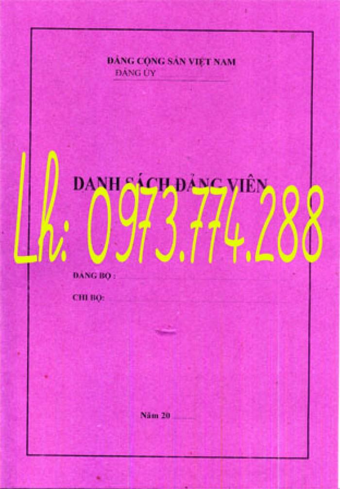 Bán quyển lý lịch cán bộ công chức mẫu 2A/TCTW năm 200811
