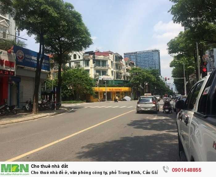 Cho thuê nhà để ở, văn phòng công ty, phố Trung Kính, Cầu Giấy, giá rẻ
