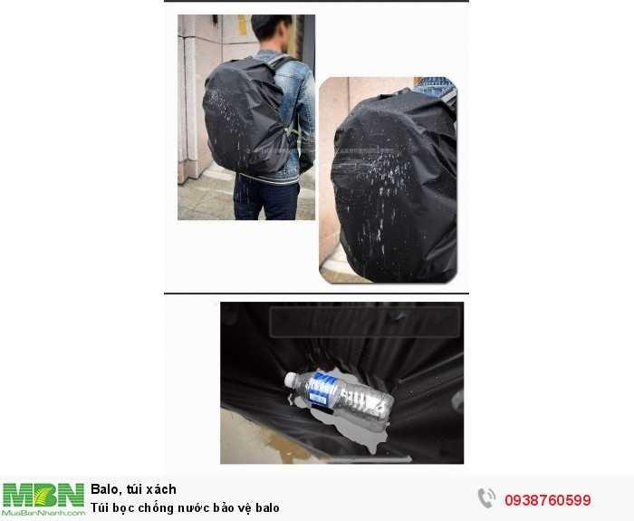 Túi bọc balo chống nước3