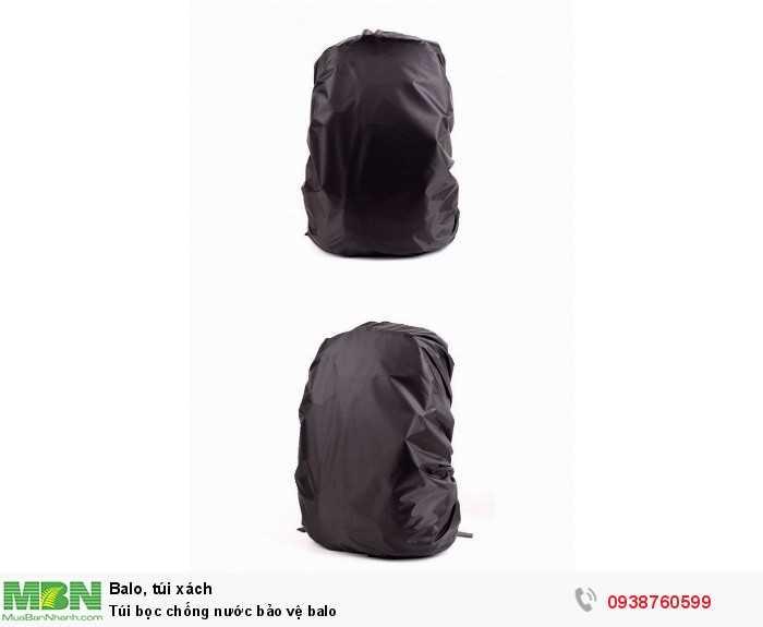Túi bọc balo chống nước2