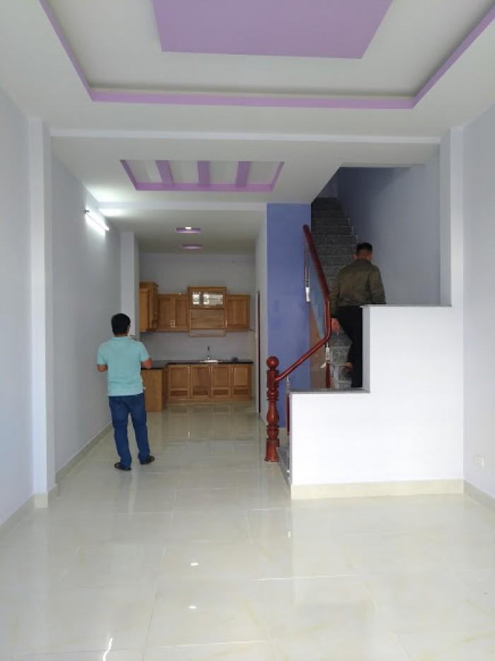 Bán gấp nhà mới 1 trệt 2 lầu bên đường Lê Trọng Tấn