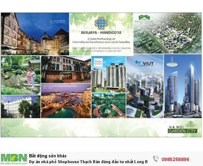 Dự án nhà phố Shophouse Thạch Bàn đáng đầu tư nhất Long Biên