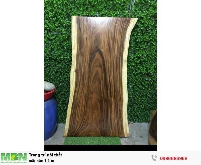 Mặt bàn nguyên tấm gỗ me tây0