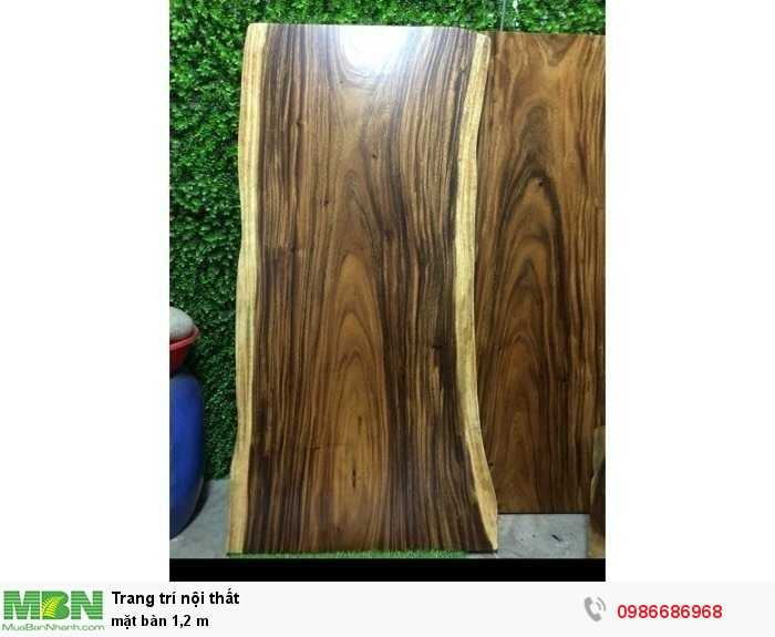 Mặt bàn nguyên tấm gỗ me tây1