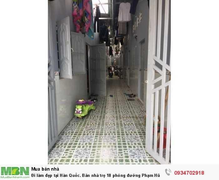 Bán nhà trọ 18 phòng đường Phạm Hữu Lầu