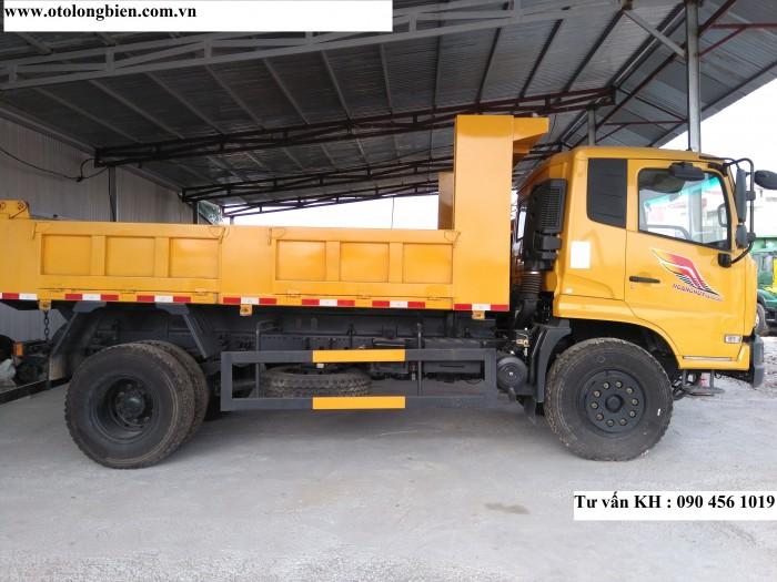 Xe tải ben Dongfeng Hoang Huy 8 tấn