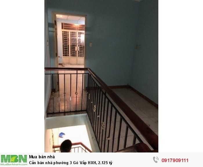 Cần bán nhà phường 3 Gò Vấp HXH