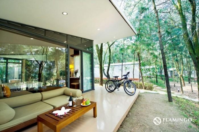 Mở bán 3 căn biệt thự rẻ nhất của Flamigo Đại Lải, (225m2), giá CĐT ,ck 35%.