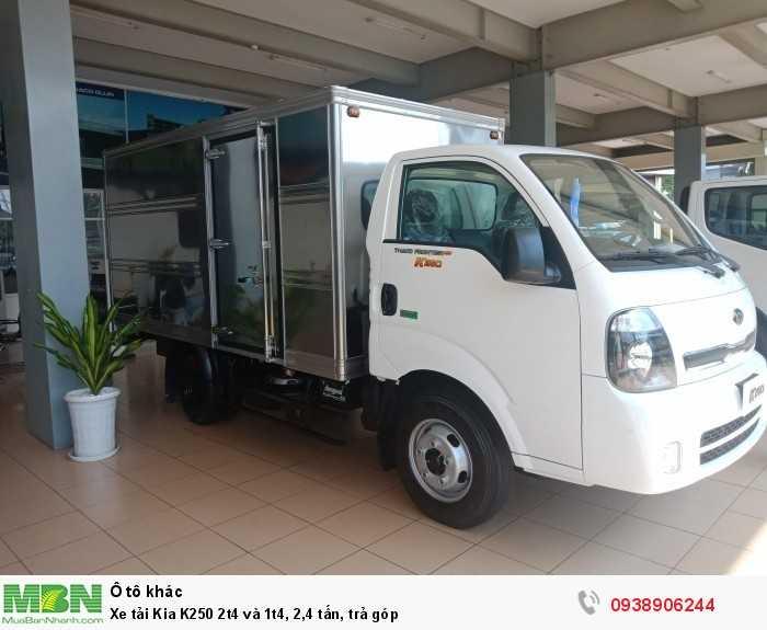 Xe tải Kia K250 2t4 và 1t4, 2,4 tấn, trả góp