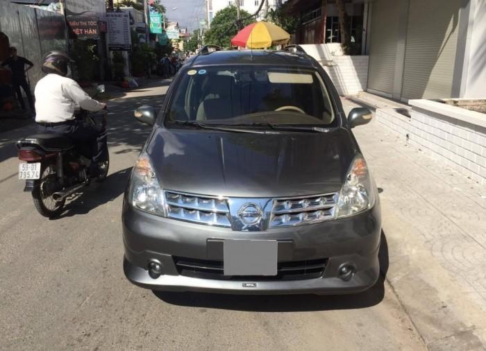 Bán xe Livina Nissan 2011 số sàn màu xám