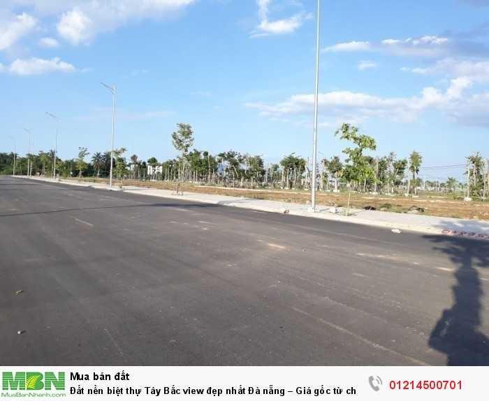 Đất nền biệt thự Tây Bắc view đẹp nhất Đà nẵng – Giá gốc từ chủ đầu tư