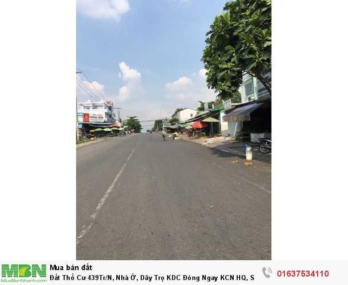 Đất Thổ Cư 439Tr/N, Nhà Ở, Dãy Trọ KDC Đông Ngay KCN HQ, Sát Chợ, Gần Trường Học.