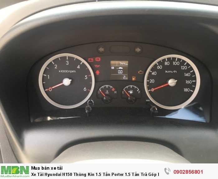Xe Tải Hyundai H150 Thùng Kín 1.5 Tấn Porter 1.5 Tấn Trả Góp lãi suất thấp ... 3
