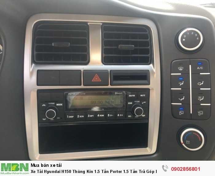 Xe Tải Hyundai H150 Thùng Kín 1.5 Tấn Porter 1.5 Tấn Trả Góp lãi suất thấp ... 4