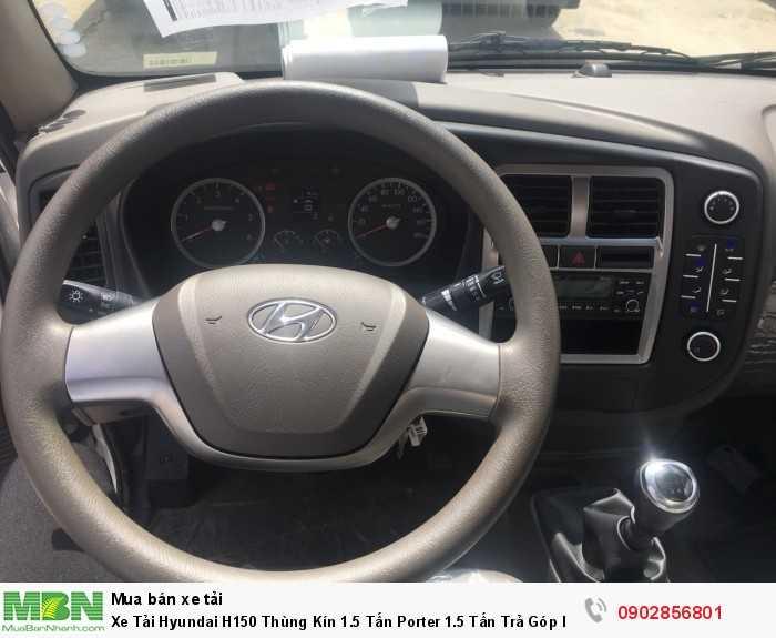 Xe Tải Hyundai H150 Thùng Kín 1.5 Tấn Porter 1.5 Tấn Trả Góp lãi suất thấp ... 5